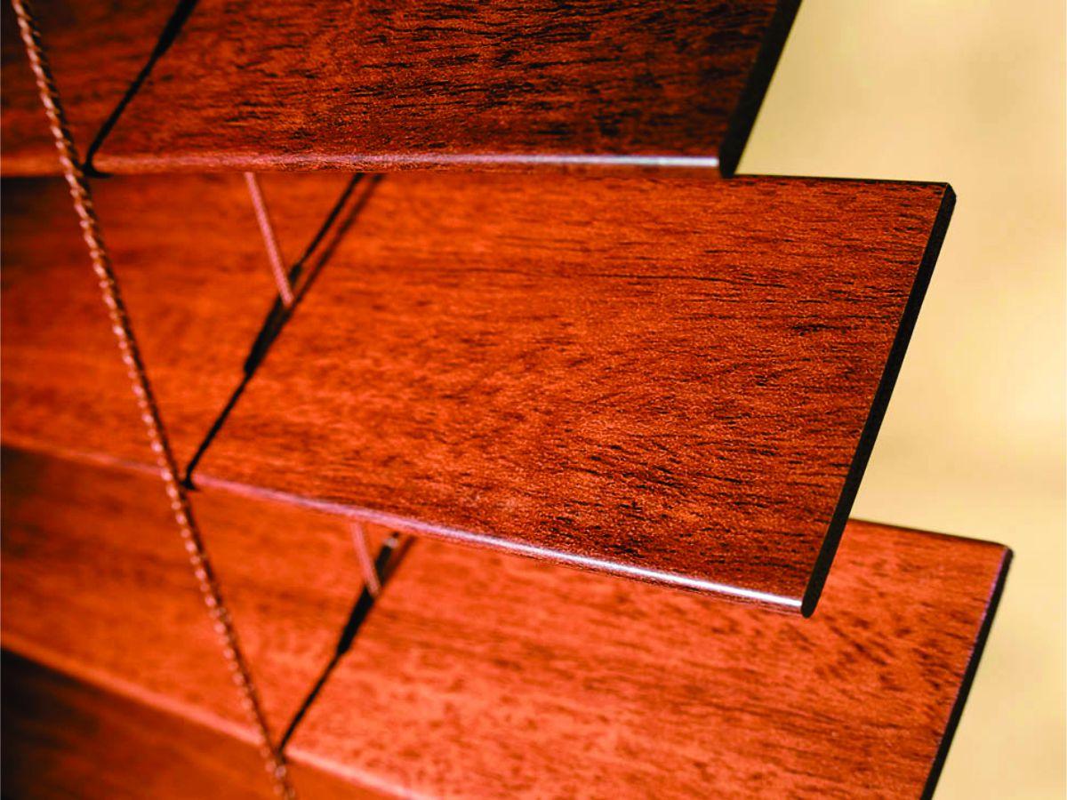 Horizontal Blind Model Wooden Blind