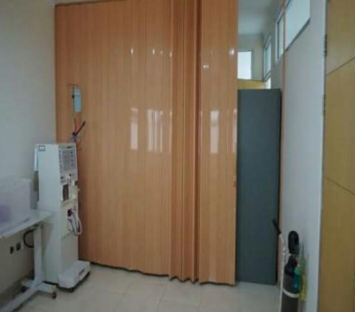 Folding Door Plastik PVC 1