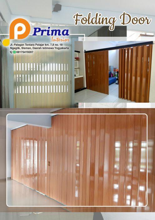 Kelebihan dan Kekurangan Folding Door Plastik PVC