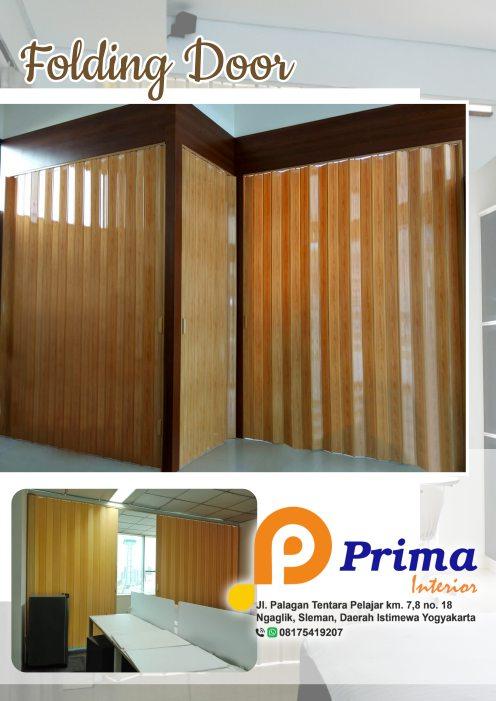 Harga Folding Door PVC Jogjakarta dan Jateng