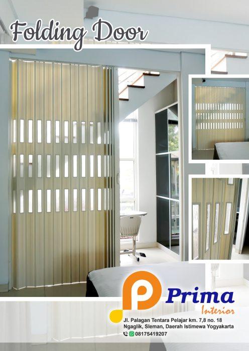 Keunggulan Penyekat Ruang PVC / Folding Door Plastic PVC