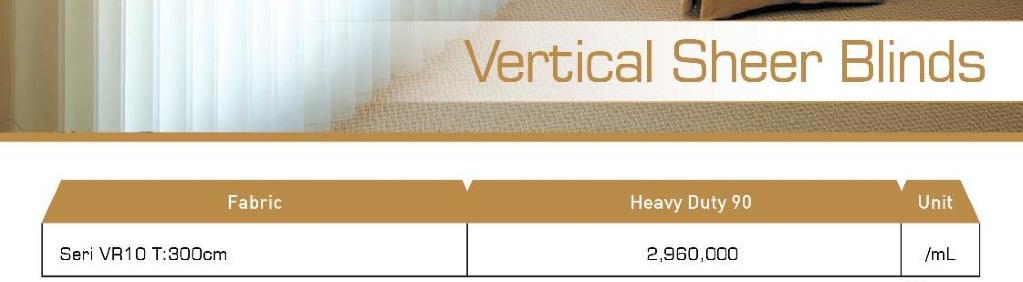 harga vertical sheer blind onna