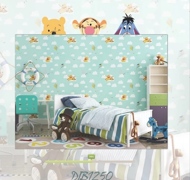 harga wallpapper winny the pooh