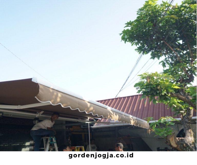 Harga Awning Kain Paling Murah dan Berkualitas di Daerah Jogja