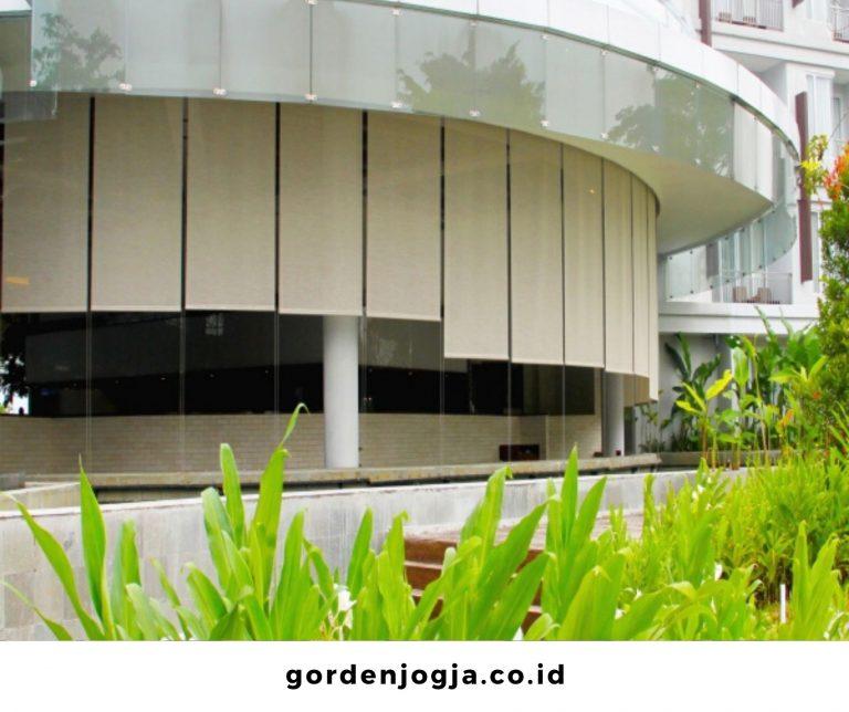 Tirai Outdoor Anti Air Paling Lengkap dan Paling Murah di Jogja