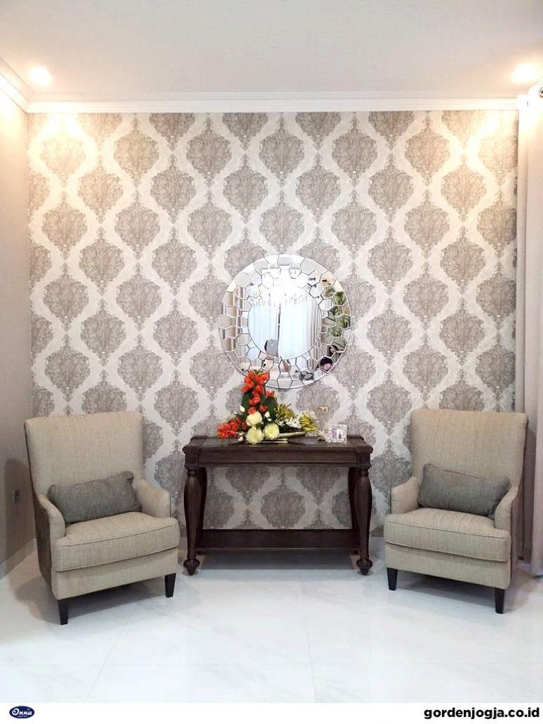 Tips Memilih Wallpaper Dinding Ruang Tamu Minimalis agar Tampak  Luas