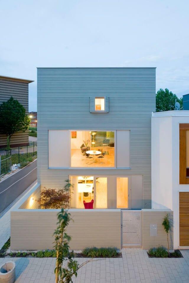Intip Yuk! Inspirasi Fasad Rumah Minimalis Bertema Monokrom