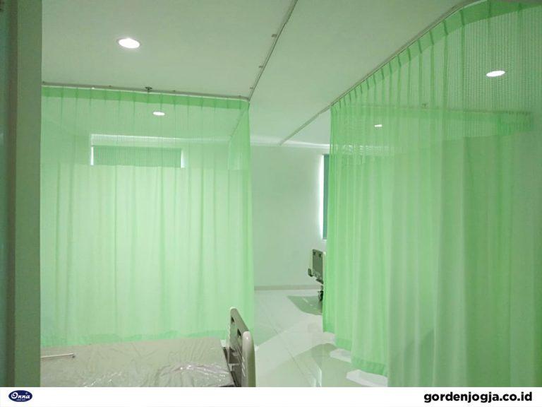 Jual Tirai Rumah Sakit Per Meter Anti Bakteri Yogyakarta