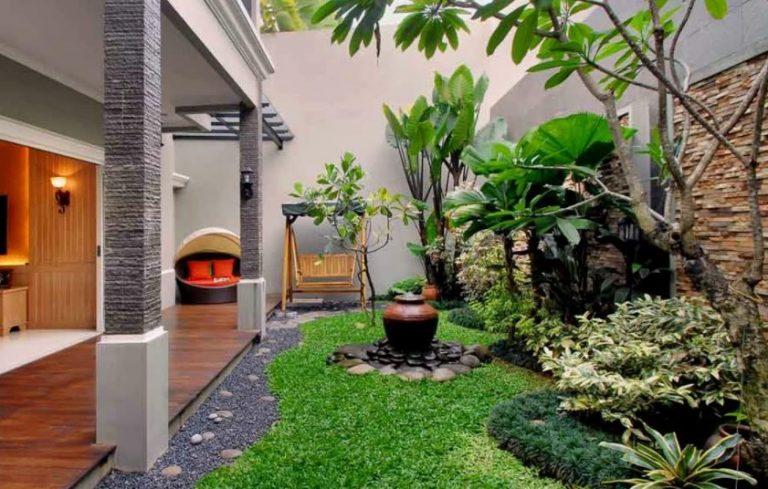 Inspirasi Desain Taman Minimalis yang Bikin Betah Seharian