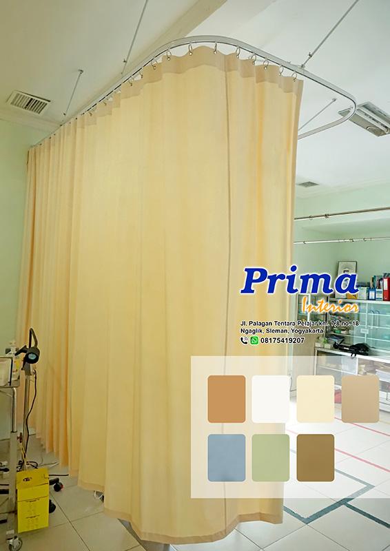 Gorden Plastik PVC Rumah Sakit