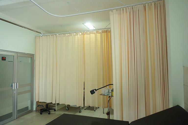 Tirai PVC Curtain Rumah Sakit