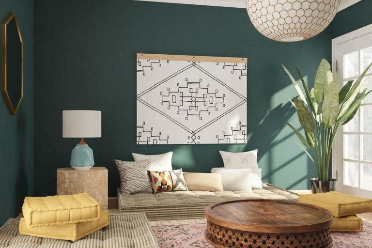 Pilih Mana, Karpet Vinyl atau Karpet Bulu untuk Ruang Tamu Lesehan ?