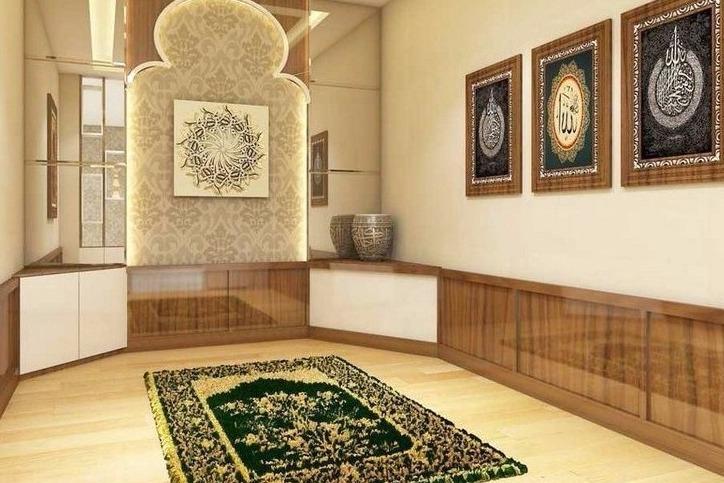 desain mushola dalam rumah
